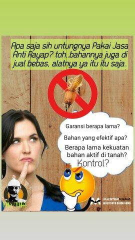 Jasa Anti Rayap di Paku Jaya Tangerang