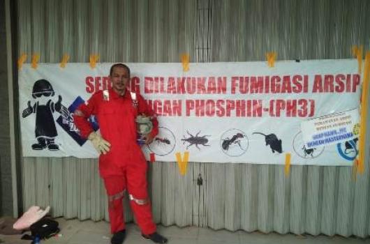 Jasa Fumigasi Gudang Penyimpanan Arsip Document Storage
